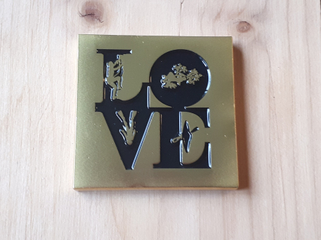 LOVE T5 Geocoin - Rock - Limited Edition Gold